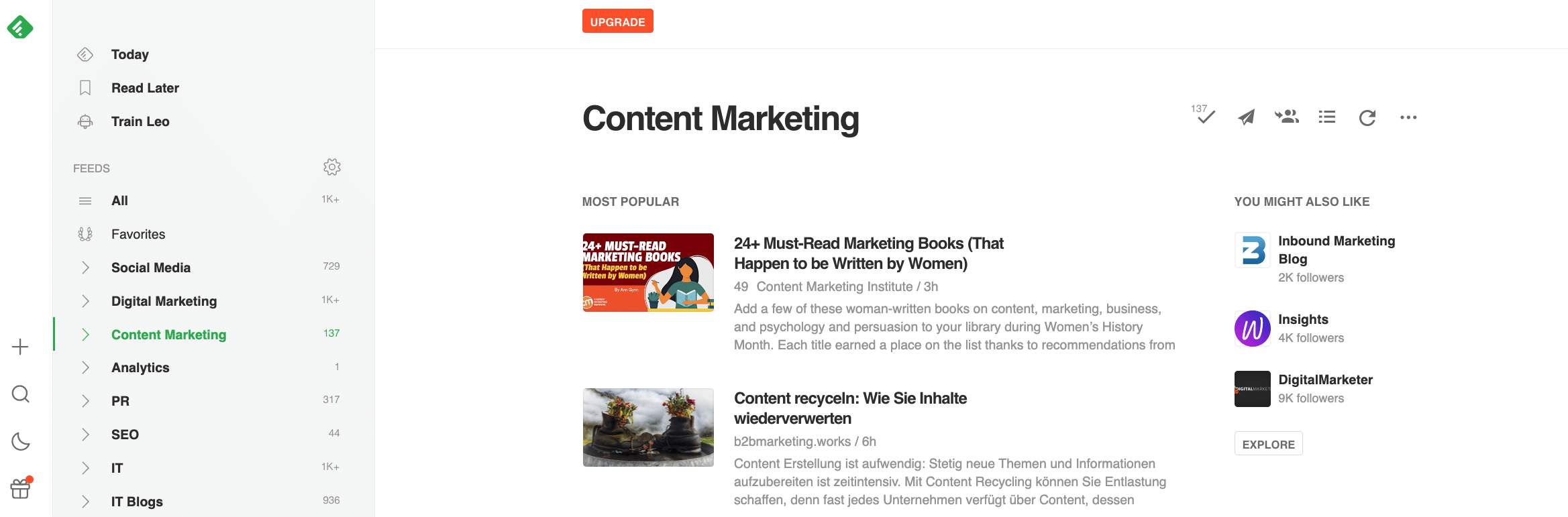 Content-Marketing-Tools-Feedly